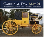 Join us in celebrating Carriage Day on Friday, July 22!