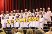 Last week... Kindergarten Graduation