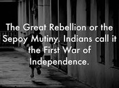 First war of independence