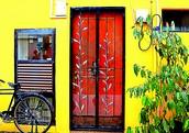 THE AMBER DOOR