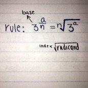 Rational Exponents to Radicals