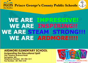WE ARE A STEAM SCHOOL