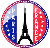Flag Of Paris, France