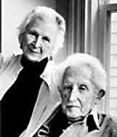 Erik Erikson and his wife