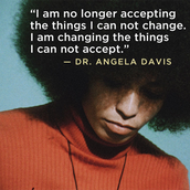 a  quote by Angela Davis