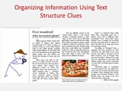 Organizing Information Using Text Structure Clues Video