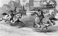 Jousting, in action