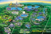 A map of the parks