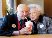 Truett Cathy and his wife