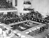 January 1919 - Peace conference at the Palace of Versailles