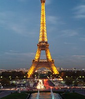 The Eiffel Tower.