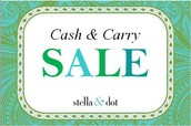 Cash & Carry Sale