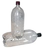 Used 2-liter bottles...