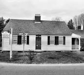 The house where Clara Barton was born.