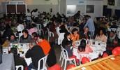 Almoço comemorativo dos 35 anos da ASSACM que contou com 140 convidados