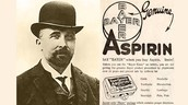 Who created aspirin, when was it made and where was it created?