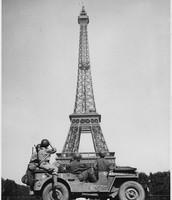 American Troops Block Germans from Paris- June 1918