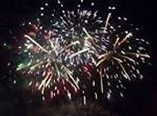 Fireworks are also big chemical changes. When they go up in the air they explode leaving nothing but a new substance, ash.