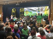 Great family turnout at the kinder performance of Character Matters tonight!