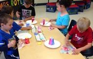 Little artists!