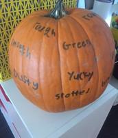 Describing a Pumpkin