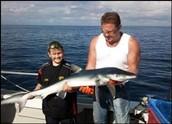 Shark Fishing Trips Cornwall