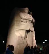 Yo fui al Monumento de Martin Luther King Jr.