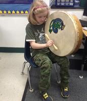 Playing the Irish Drum