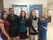 NJHS Inductees and members