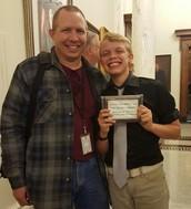 AJ Ballard Scout Award