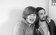 """Chris """"Woody"""" Wood (left) Kyle Simmons (right)"""