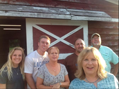 Mrs. Wetuski and some friends and family hauled horses to upstate New York this past week