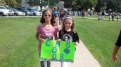Start of school parade in September
