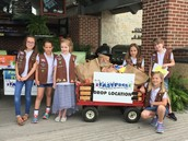 Market Street Grocery Store & Girl Scouts
