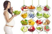 Foods good for the baby