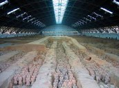 This is the Terracotta army.
