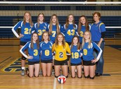 Freshmen  Girl's Volleyball