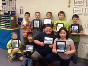 Third graders from Mrs. Vierling's reading class created a ThingLink on the Ipads over an Ancient Egyptian artifact.