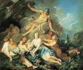 Mercury encomana Bacchus a les Nimfes  (1734) François BOUCHER