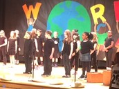 3RD GRADE CONCERT:  BIG BIG  WORLD!