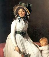 Ritratto di Madame Seriziat, David, 1795