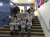 K-2 Student's of the Month - Cooperation