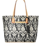 LA TOTALE LARGE - ESPRESSO IKAT Bag $75 (Retail: $118)