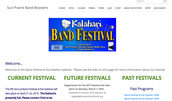 Band Festival Website