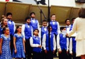 Advanced Choir Razzle Dazzles Crowd with musical performance