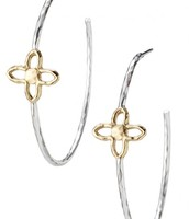 Gwyneth Hoop sterling silver hoops was £45 NOW £22.50