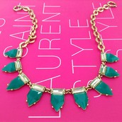Eye Candy!!  In emerald or pink, a bold splash of colour for the wet and windy weather ahead!