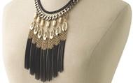 Lillith Fringe Necklace $50