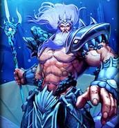 Poseidon, as ruler of the Seas
