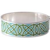 Eleanor Bangle Bracelet - Turquoise
